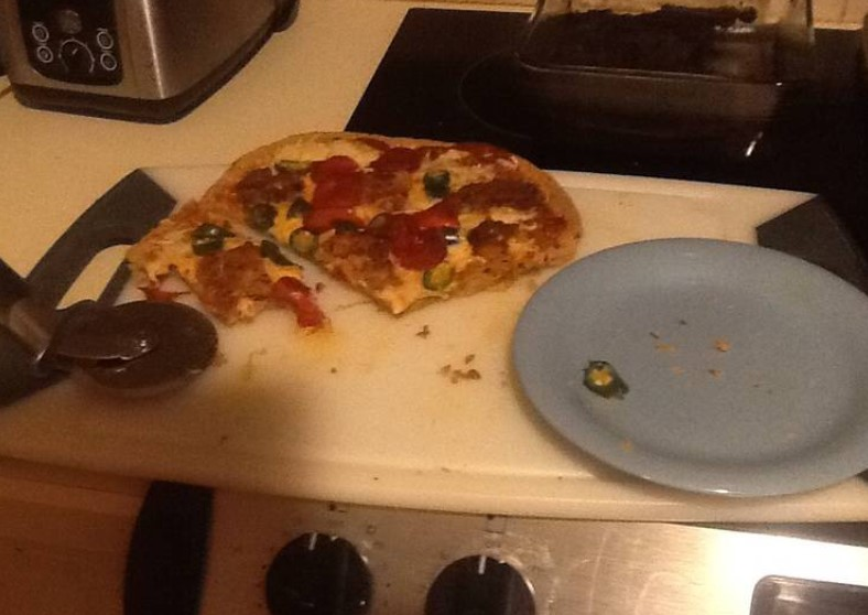 Hacked Bread Pizza Low Carb Calorie