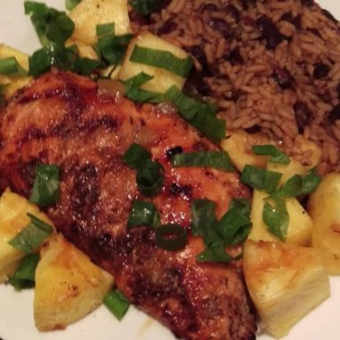 Tasty Tropical-Spiced Grilled Chicken Breast