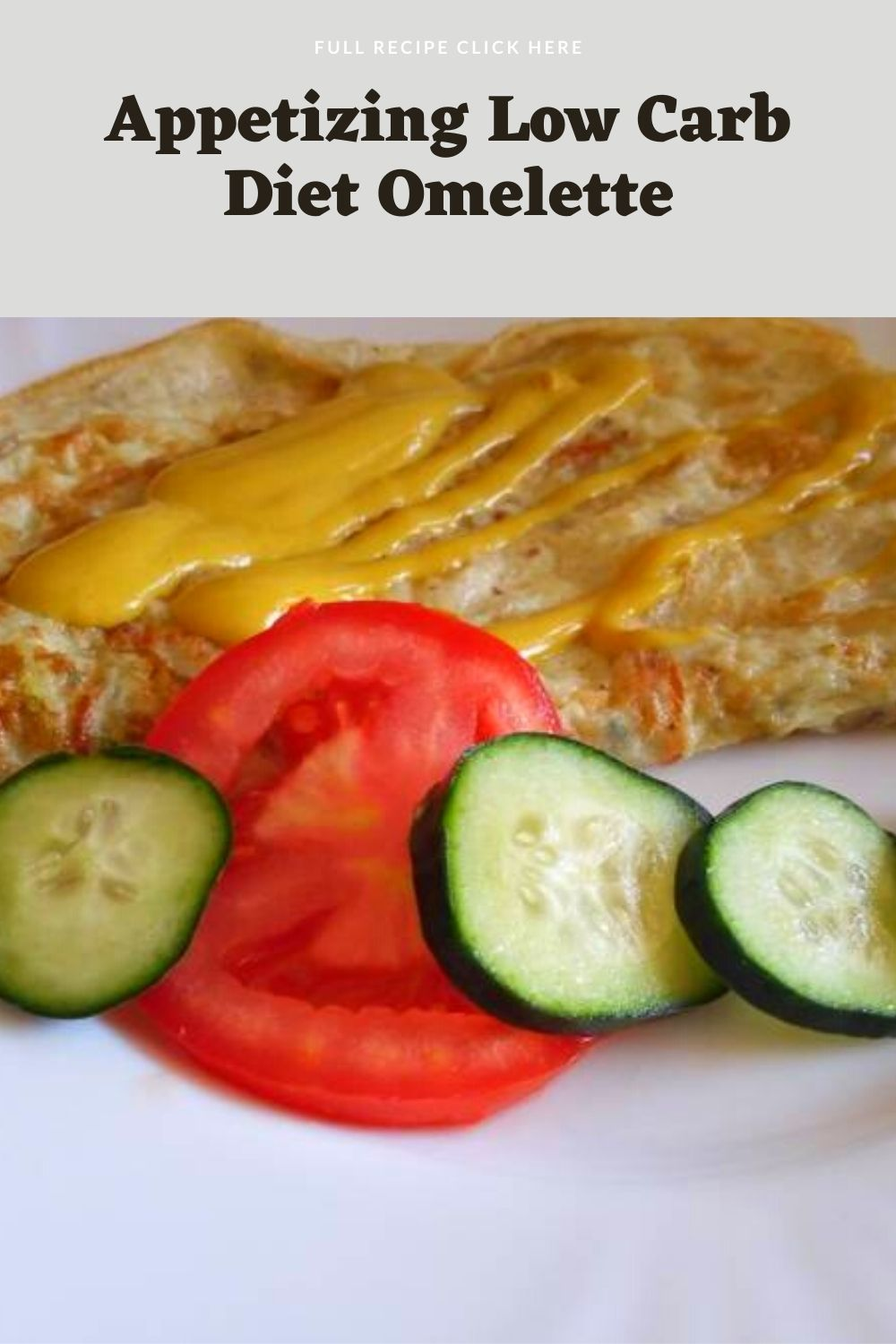 Appetizing Low Carb Diet Omelette