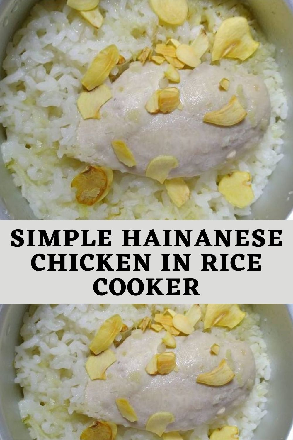 Simple Hainanese Chicken in Rice Cooker (1)