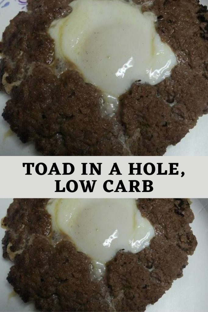 Toad in a hole, low carb (1)