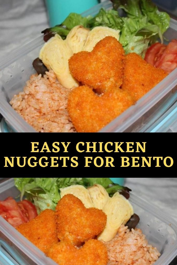 Easy Chicken Nuggets for Bento (1)