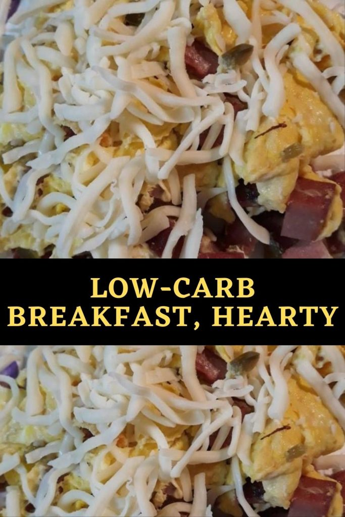 Low-Carb Breakfast, Hearty (1)
