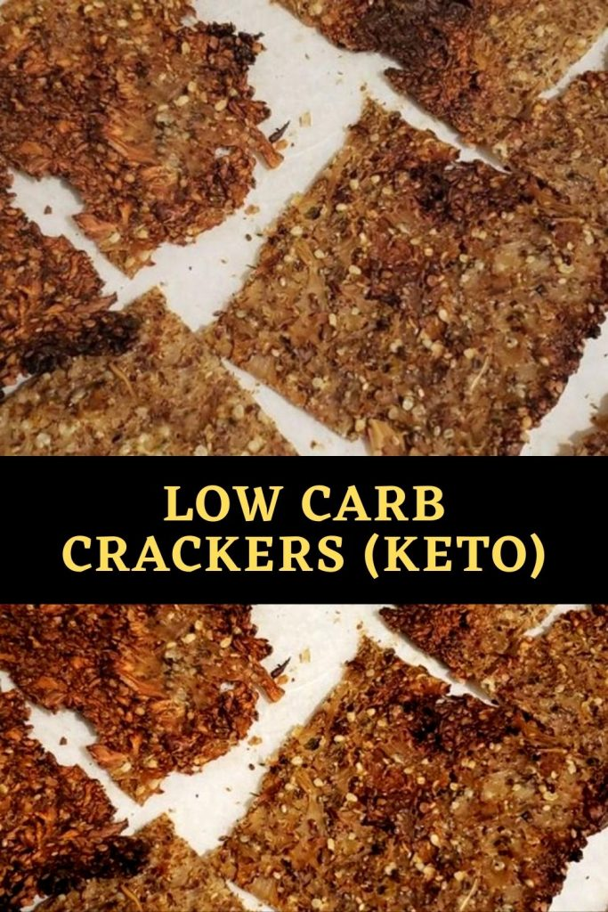 Low Carb Crackers (Keto) (1)
