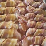 Simple paleo bacon wrapped chicken