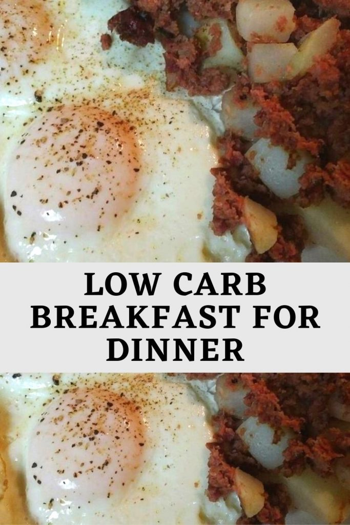 Low carb Breakfast for Dinner (1)