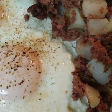 Low carb Breakfast for Dinner