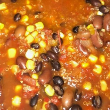 Slow Cooker Three Bean Chili (1)