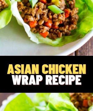 ASIAN CHICKEN WRAP RECIPE 3