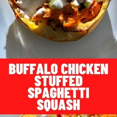 Buffalo Chicken Stuffed Spaghetti Squash (1)