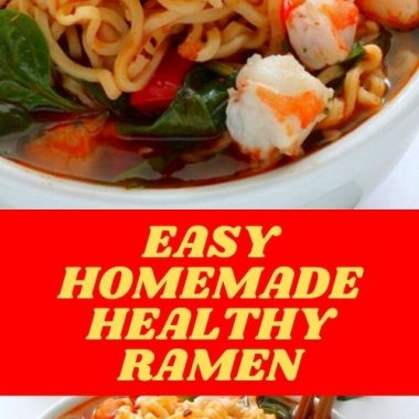 Easy Homemade Healthy Ramen (1)