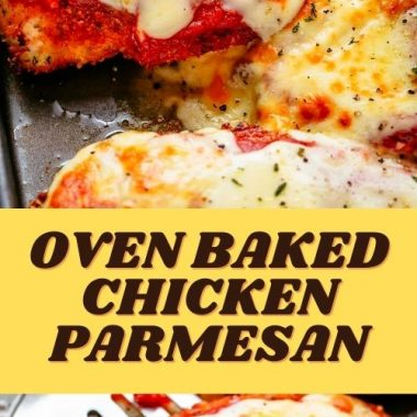 OVEN BAKED CHICKEN PARMESAN (3)