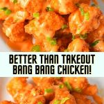 Better Than Takeout Bang Bang Chicken! #chickendinnerideas #chicken #chickenfoodrecipes