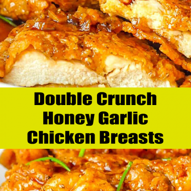 Double Crunch Honey Garlic Chicken Breasts #chickenbreast