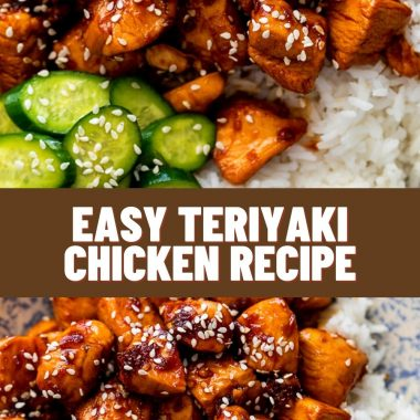 Easy Teriyaki Chicken Recipe #chickendinnerideas #chicken #chickenfoodrecipes
