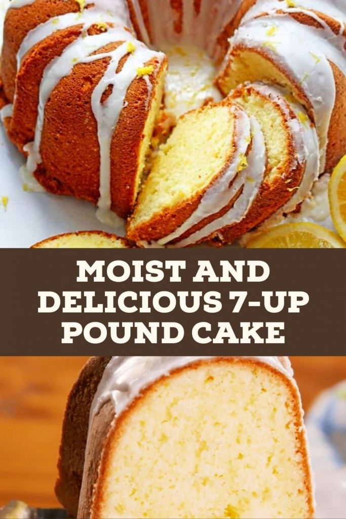 Moist and Delicious 7-Up Pound Cake #cakerecipes