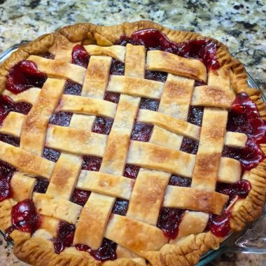 Easy Cranberry Cherry Pie