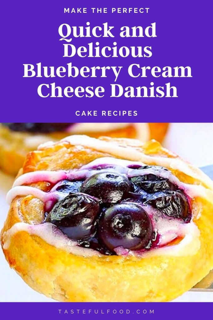 Quick and Delicious Blueberry Cream Cheese Danish #Delicious #Blueberry #Cream #Cheese #Danish