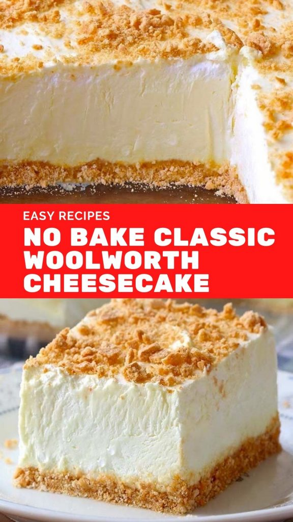 Easy No Bake Classic Woolworth Cheesecake Recipe_
