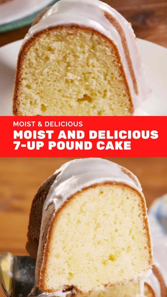 Moist and Delicious 7-Up Pound Cake